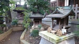 馬橋稲荷神社 稲荷小祠群 (2)