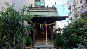 元赤城神社 社殿