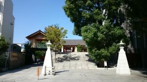 神楽坂赤城神社 境内 (2)