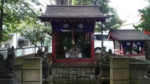 本郷氷川神社 稲荷社 (1)