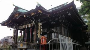 目黒大鳥神社 社殿