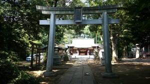 下高井戸浜田山八幡神社 二の鳥居