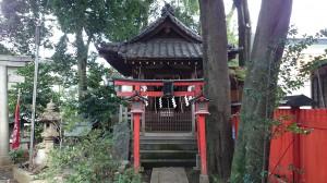 馬橋稲荷神社 嚴島神社・水神社