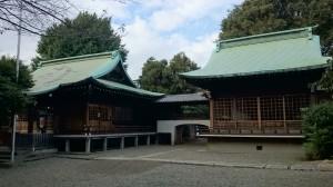 本郷氷川神社 境内