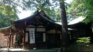 下高井戸浜田山八幡神社 社殿