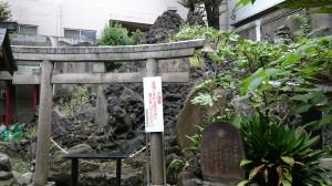 鐵砲洲稲荷神社 鐵砲洲富士と富士浅間神社 (3)