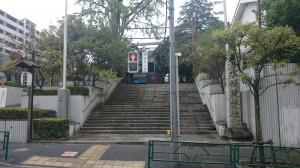 水稲荷神社 表参道