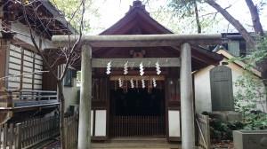 馬橋稲荷神社 齋霊殿