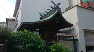 元赤城神社 流造