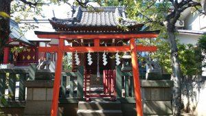 徳持神社 徳持田中稲荷神社 (修築前)