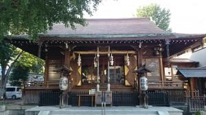 鎧神社 拝殿