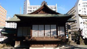 目黒大鳥神社 神楽殿