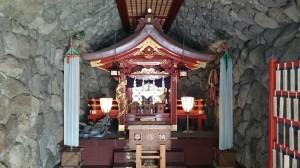 江島神社 龍宮社殿