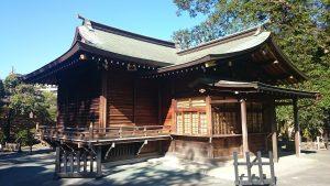 六郷神社 神楽殿