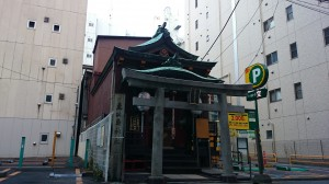 宝田恵比寿神社 社殿
