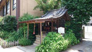 鷺宮八幡神社 末社六社殿