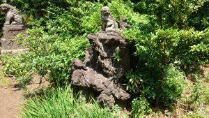 鷺宮八幡神社 狛犬 (小)阿