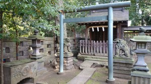 和泉熊野神社 境内末社合祀殿