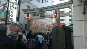 大森鷲神社 酉の市 (1)