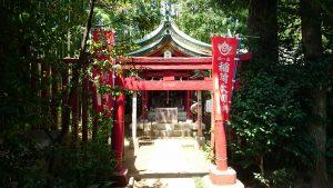 鷺宮八幡神社 稲荷神社 鳥居