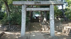 和泉熊野神社 二の鳥居