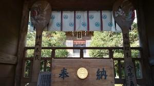 江島神社 奥津宮 拝所 (2)