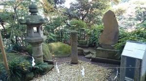 江島神社 福石・道標