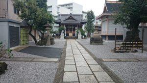 高田氷川神社 参道