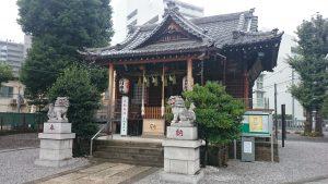 高田氷川神社 拝殿