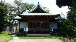 鷺宮八幡神社 神楽殿