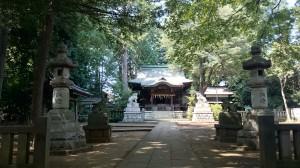 和泉熊野神社 参道