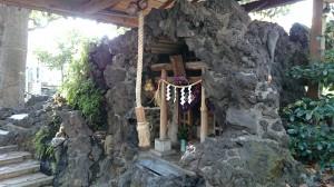 南大井水神社 社殿