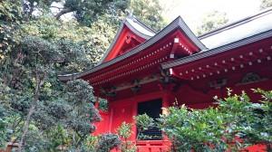江島神社 中津宮 本殿
