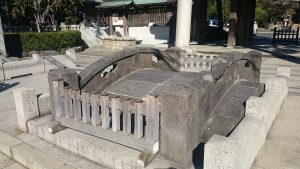 六郷神社 太鼓橋