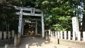 和泉熊野神社 鳥居と社号標