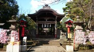 江島神社 奥津宮 拝所