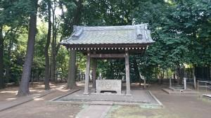 和泉熊野神社 手水舎