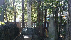 六郷神社 石碑群 (1)