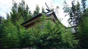 鷺宮八幡神社 本殿