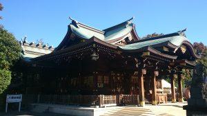 六郷神社 社殿