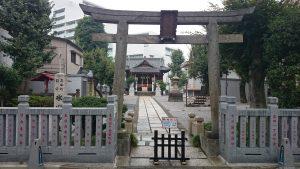 高田氷川神社 鳥居