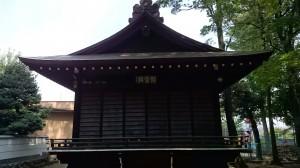 和泉熊野神社 神楽殿