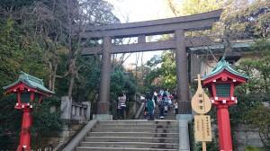 江島神社 辺津宮鳥居