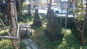 六郷神社 狛犬