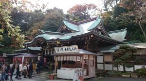 江島神社 辺津宮 社殿