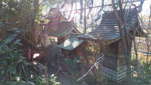 江北氷川神社 稲荷塚 (3)