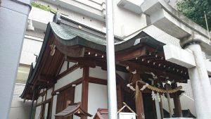 大井蔵王権現神社 社殿