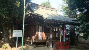 西高井戸松庵稲荷神社 拝殿