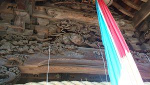 高井戸西第六天神社 拝殿彫刻 (1)