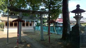 高井戸西第六天神社 末社殿
